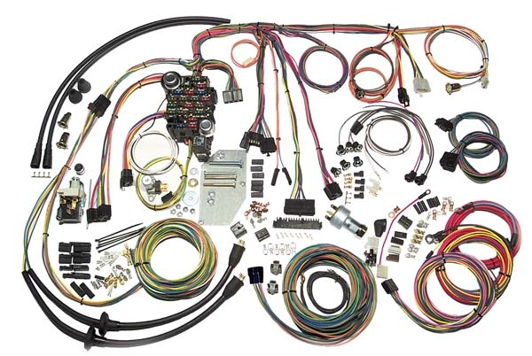 commonly used in automobiles, as well as construction machinery, cable  harnesses provide several advantages over loose wires and cables