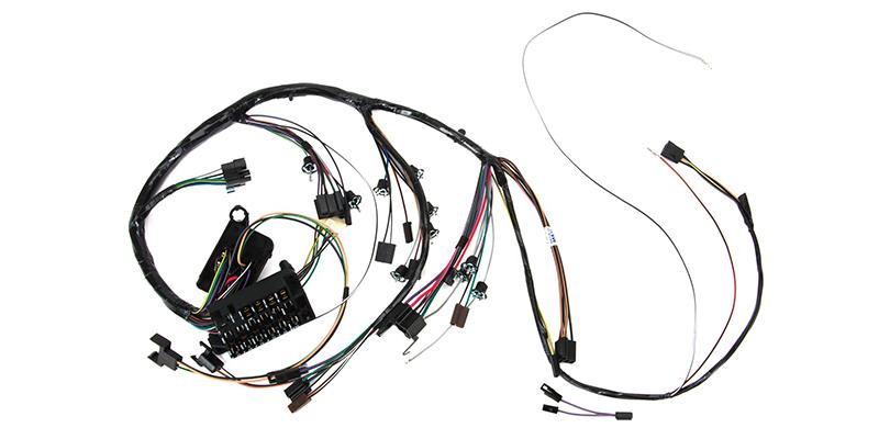 car dashboard wire harness